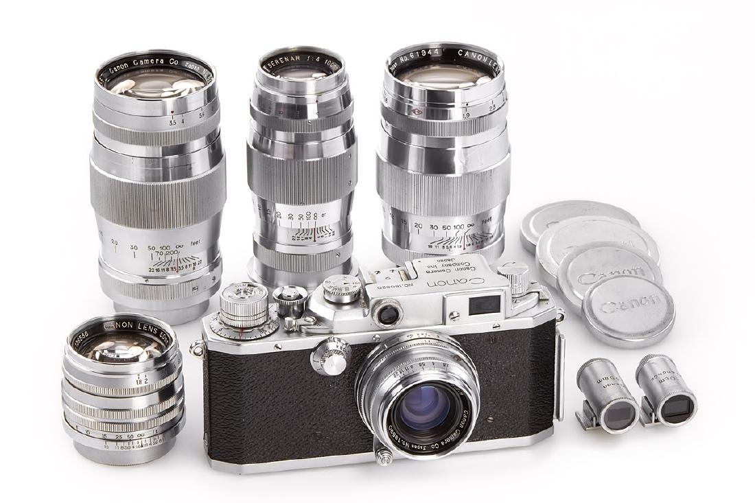 Canon IIS2 outfit *, c.1955, no. 180820