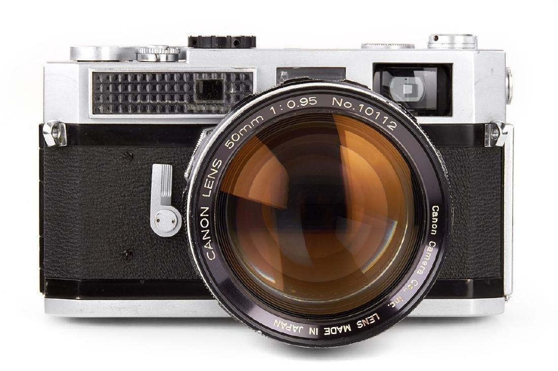 Canon 7 + 0.95/50mm, 1967, no. 807194