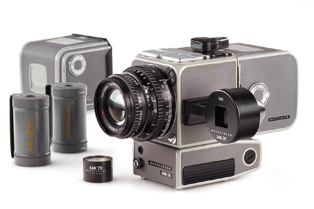 Hasselblad MK70 outfit, 1984, no. RI 1320877