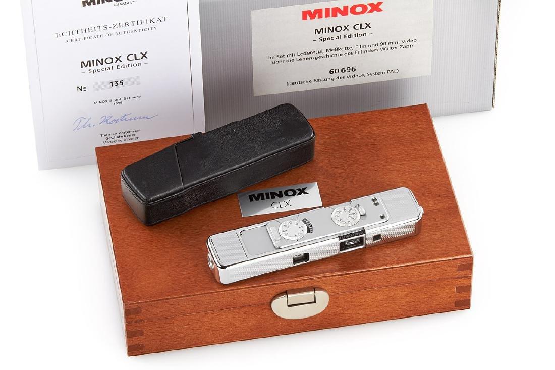Minox CLX 'Walter Zapp' Special Edition, 1998, no. 135