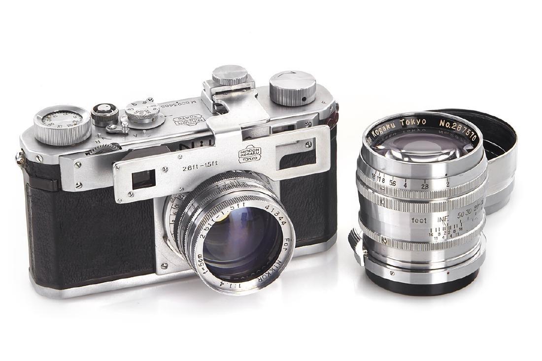Nikon M outfit, 1950, no. M6093485