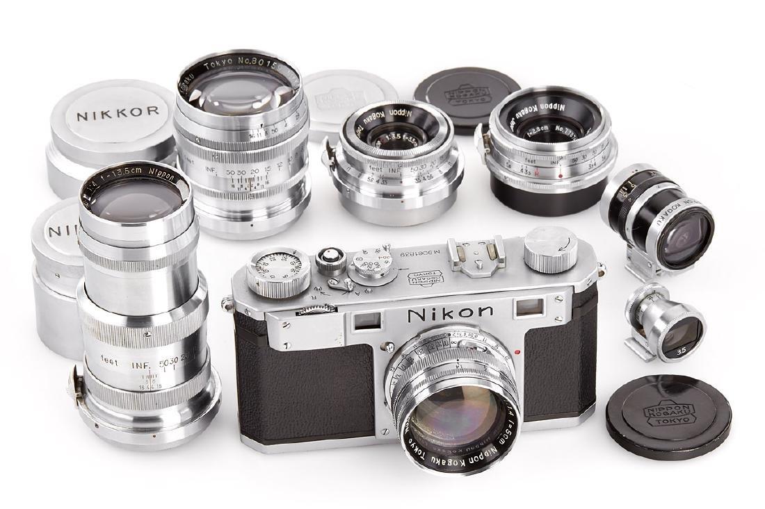 Nikon M '906' outfit, 1950, no. M9061839