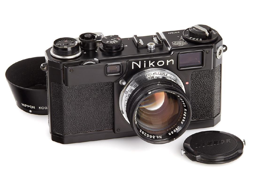 Nikon S2 black, 1956, no. 6157544