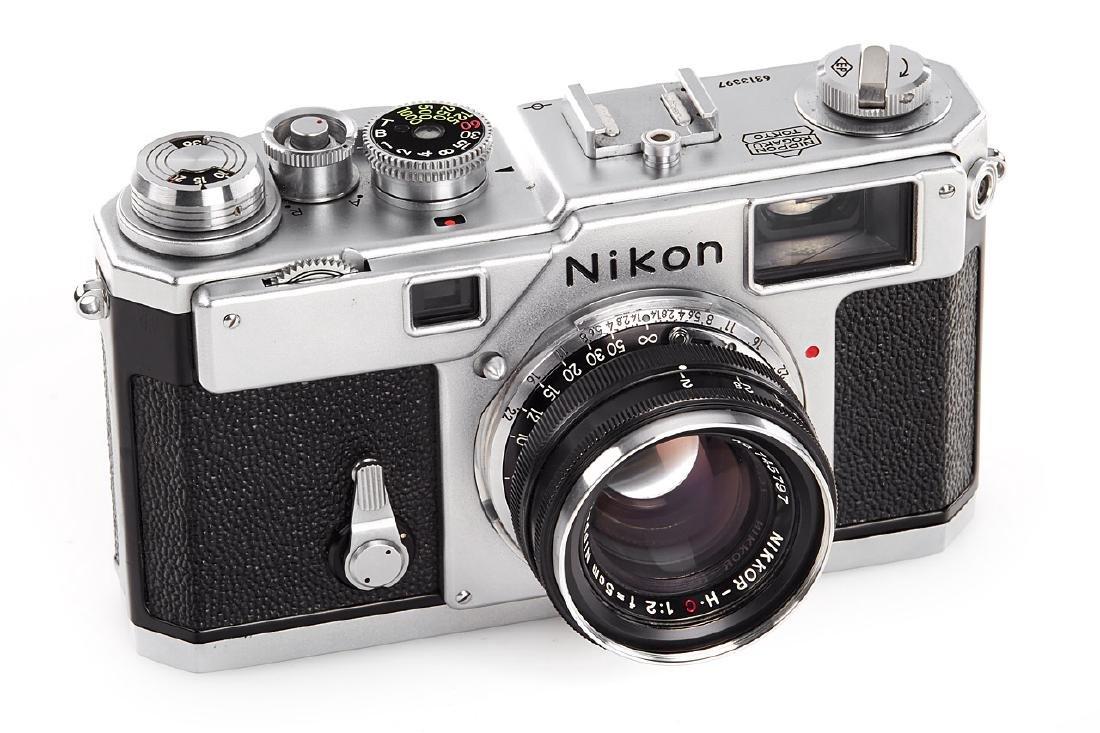 Nikon S3 chrome, 1958, no. 6313397