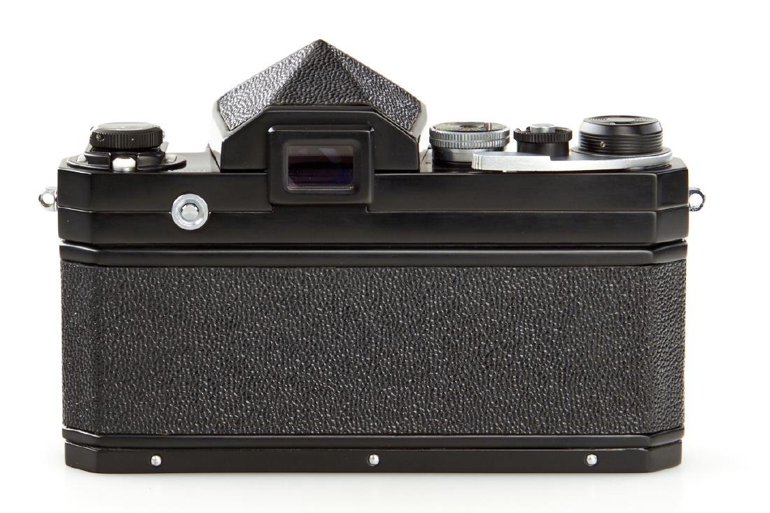 Nikon F Eyelevel black paint *, 1959, no. 6404653 - 2