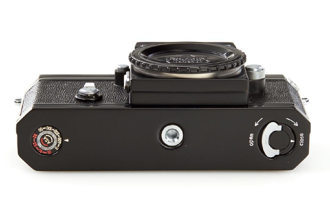 Nikon F Eyelevel black paint *, 1959, no. 6404653 - 6
