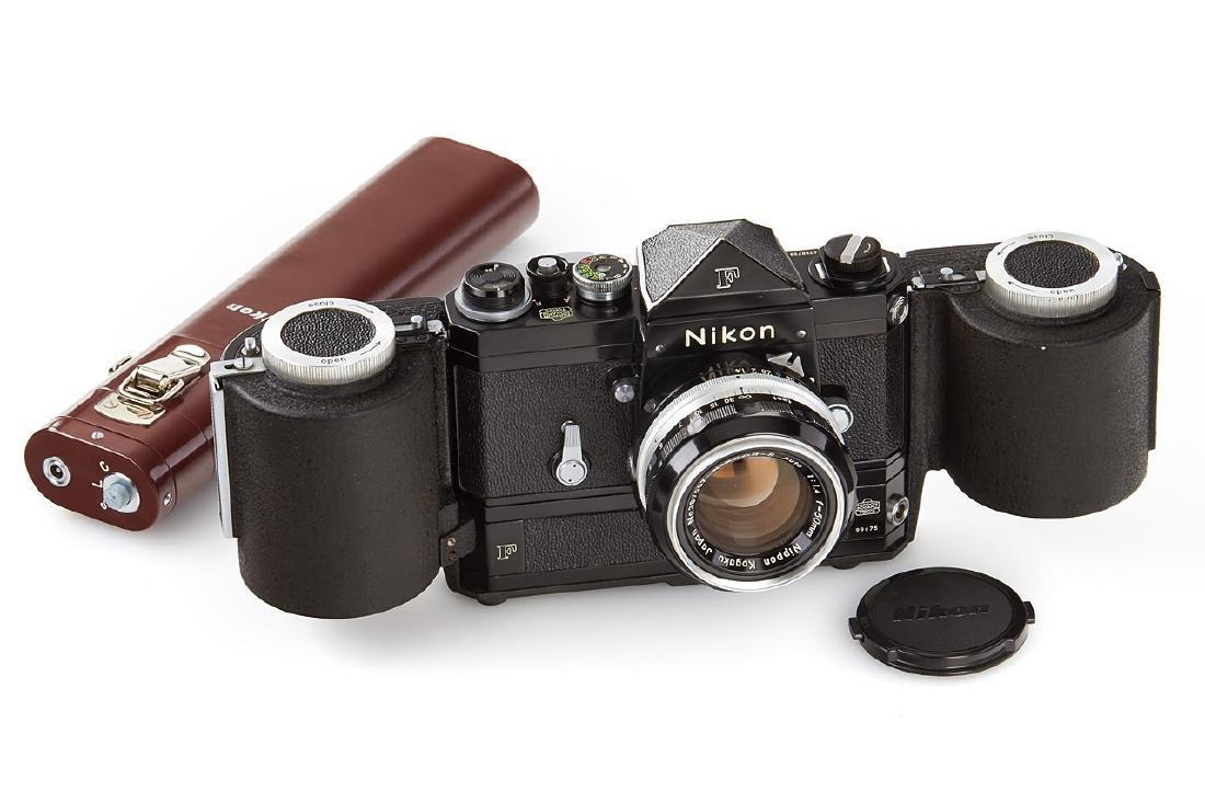 Nikon F Eyelevel black paint, 1966, no. 6758723