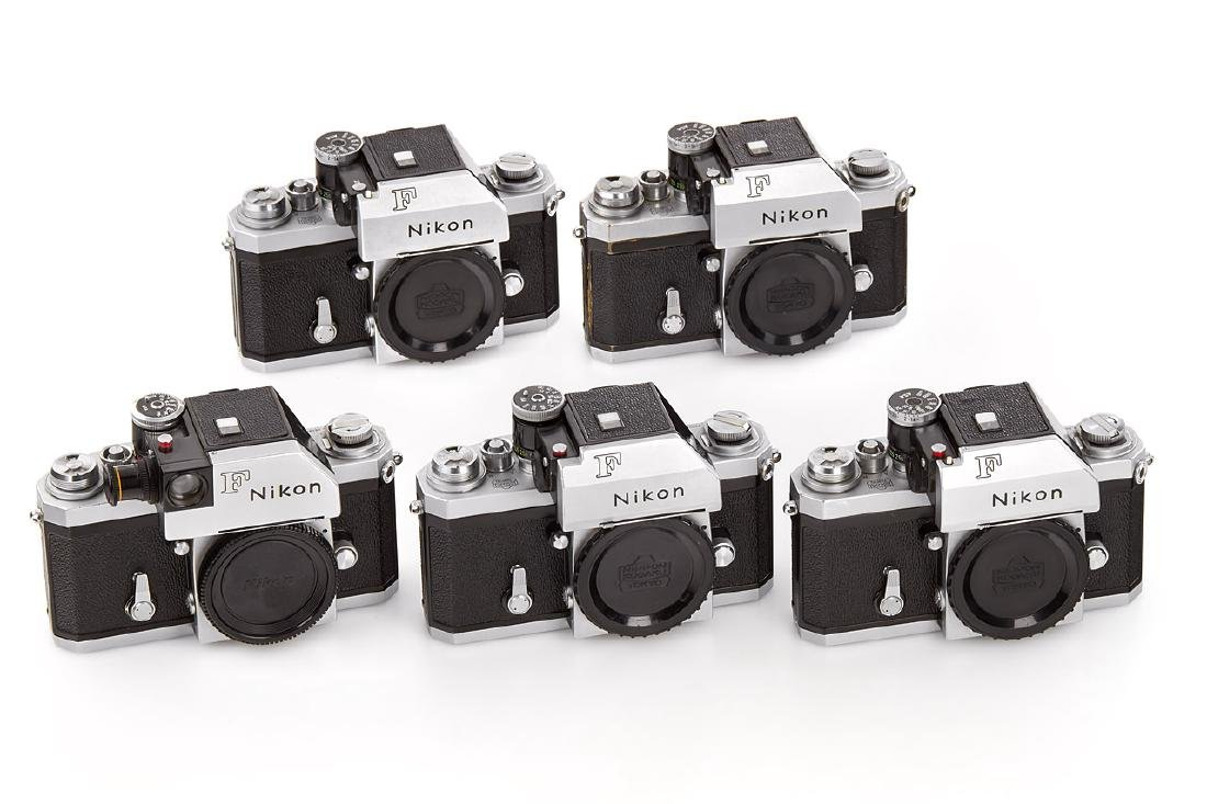 Nikon F Photomic chrome 'Red Dot' (various), 1965