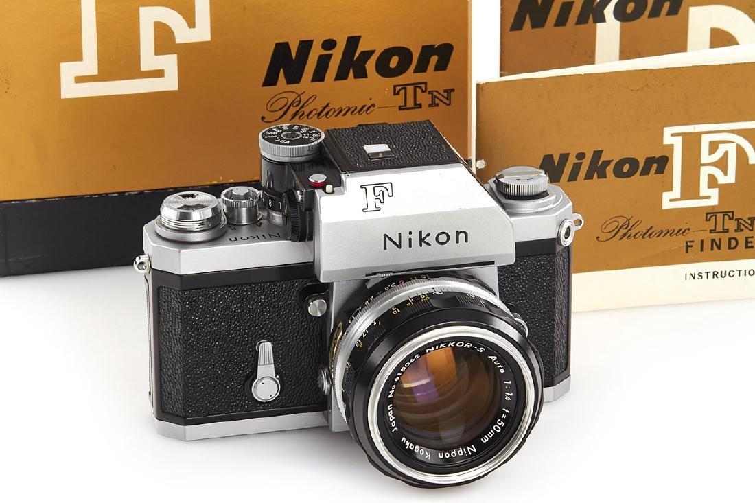 Nikon F Photomic TN chrome, 1967, no. 6870929