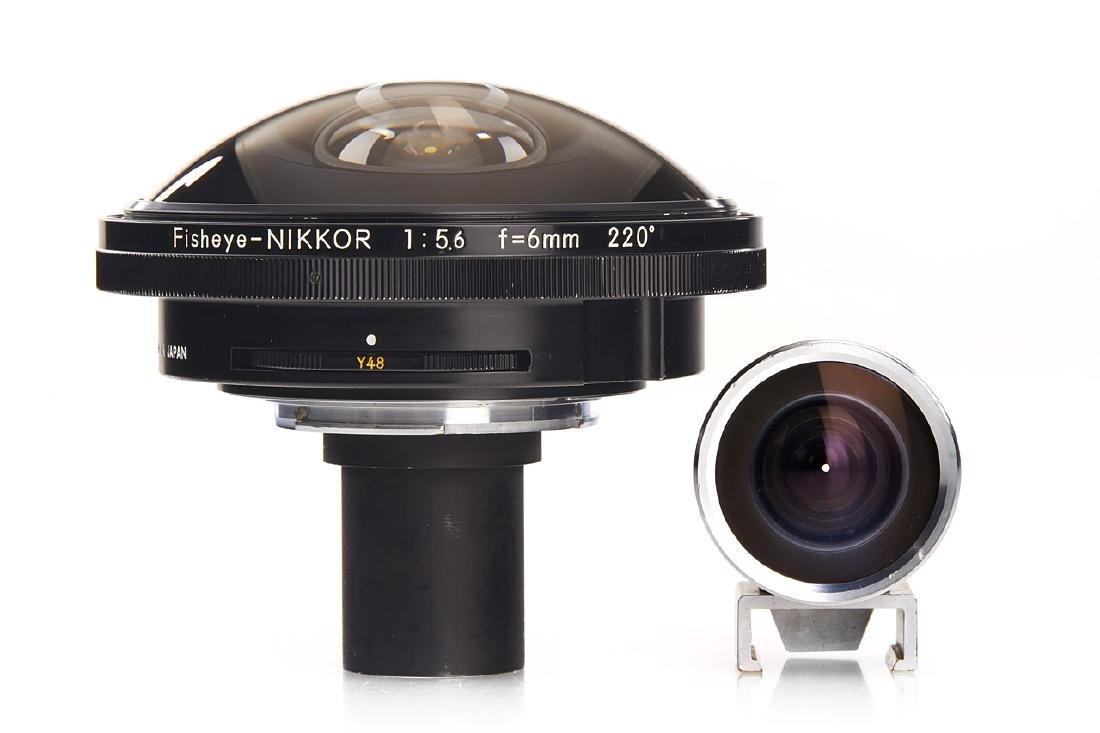Nikon 5.6/6mm 220° Fisheye-Nikkor, 1970, no. 656084