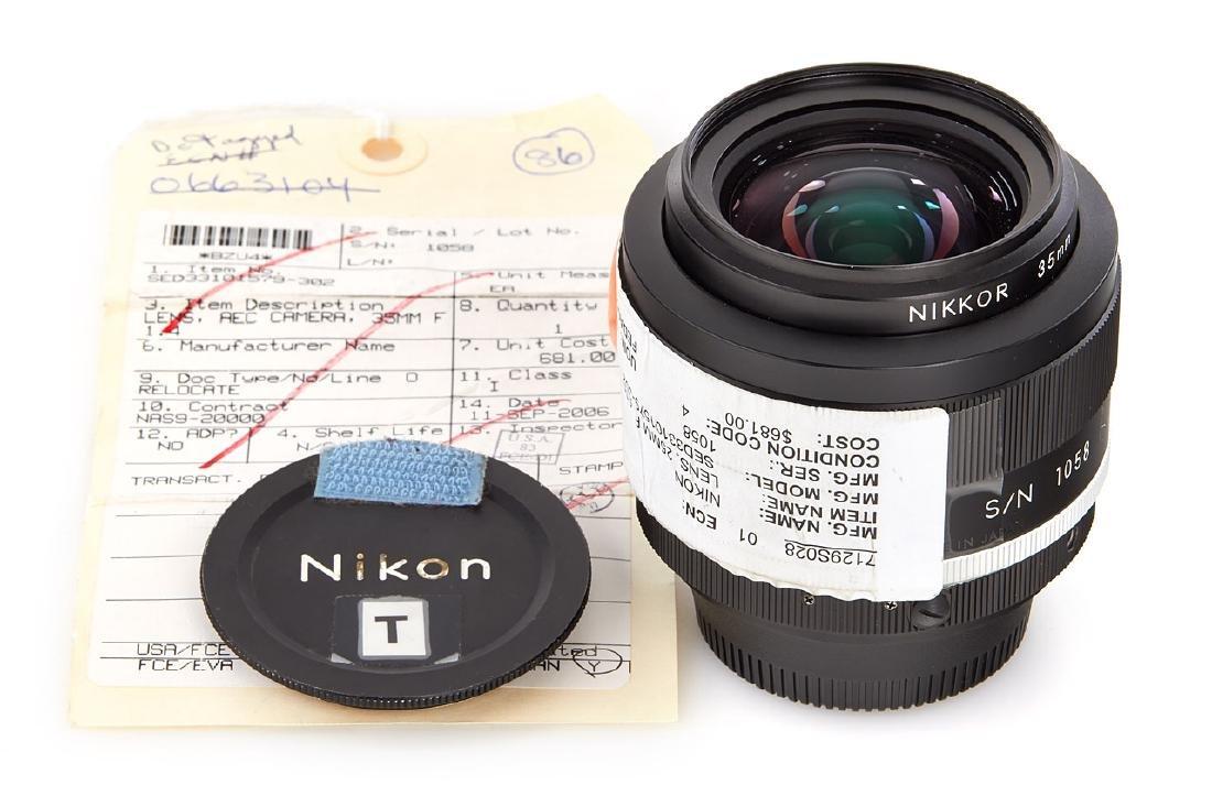 Nikon 1.4/35mm Nikkor NASA, c.1987, no. 1058