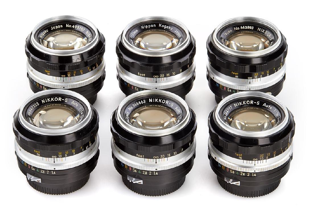 Nikon Nikkor-S Auto 1.4/50mm (various), 1963-68