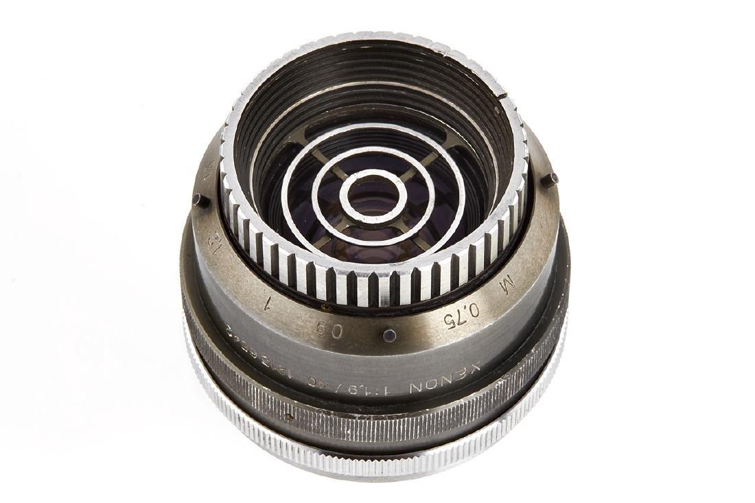 Schneider f. Robot Xenon 1.9/40mm Soft-focus Prototype,