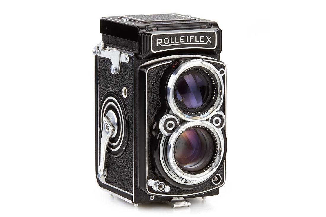 Rolleiflex 2,8 A with Biotar Prototype, 1950, no.