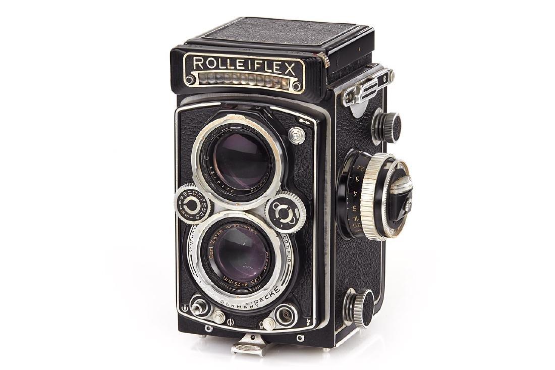 Rolleiflex 3,5 C Dummy, c.1956, no. 123210