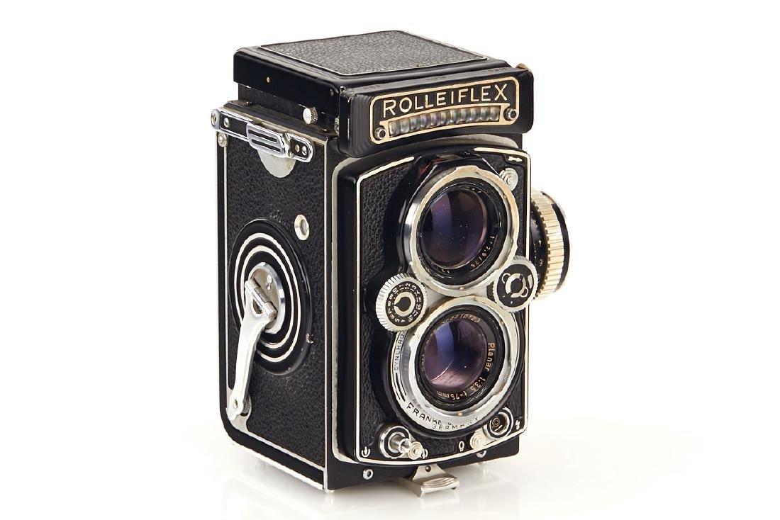 Rolleiflex 3,5 C Dummy, c.1956, no. 123210 - 2