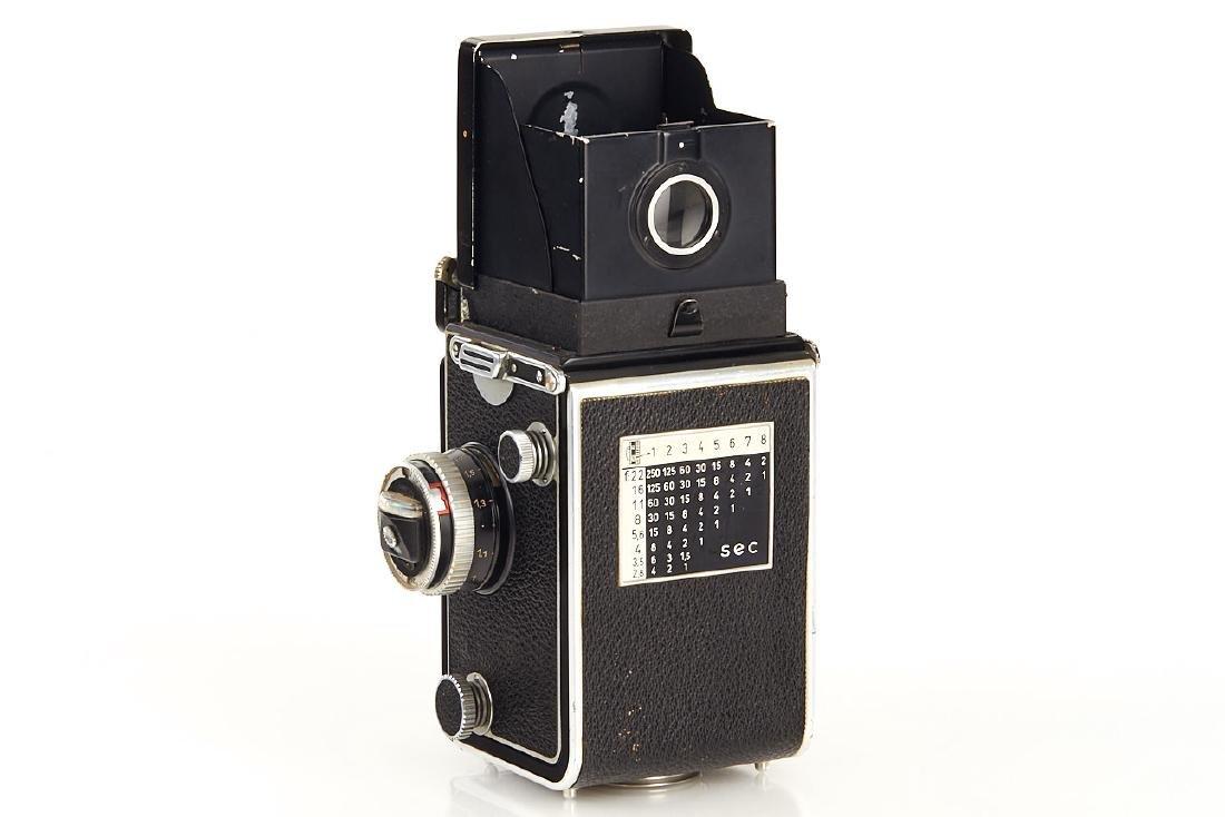 Rolleiflex 3,5 C Dummy, c.1956, no. 123210 - 4