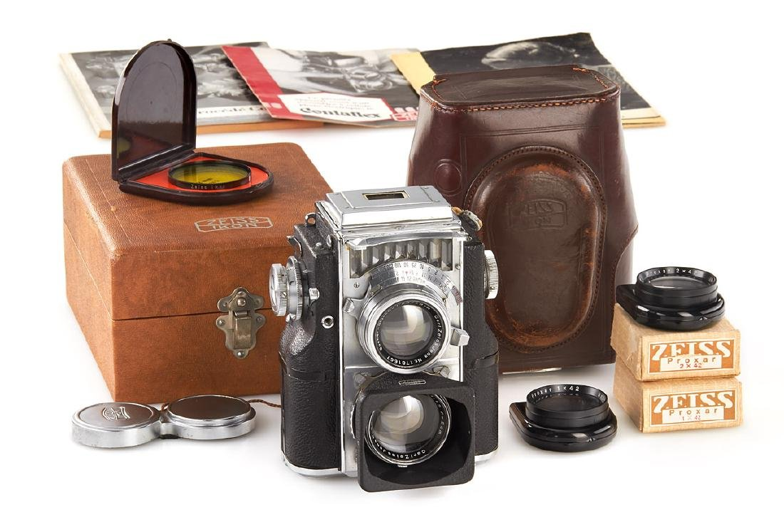 Contaflex TLR set, c.1935, no. A50474