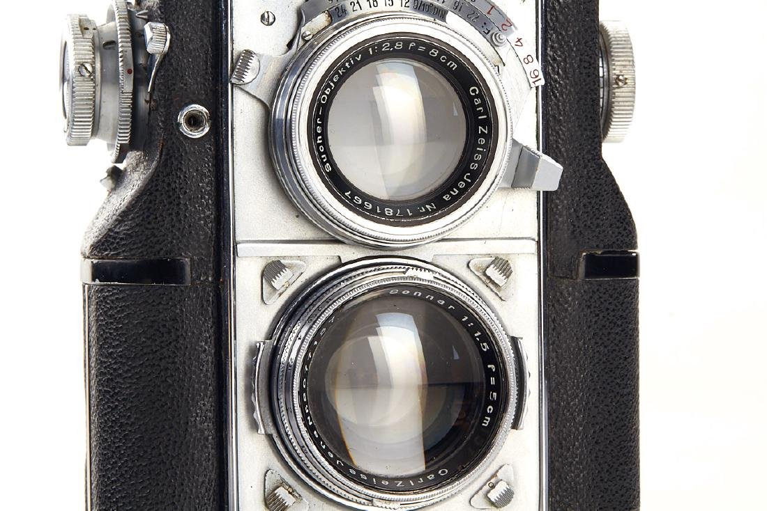 Contaflex TLR set, c.1935, no. A50474 - 3