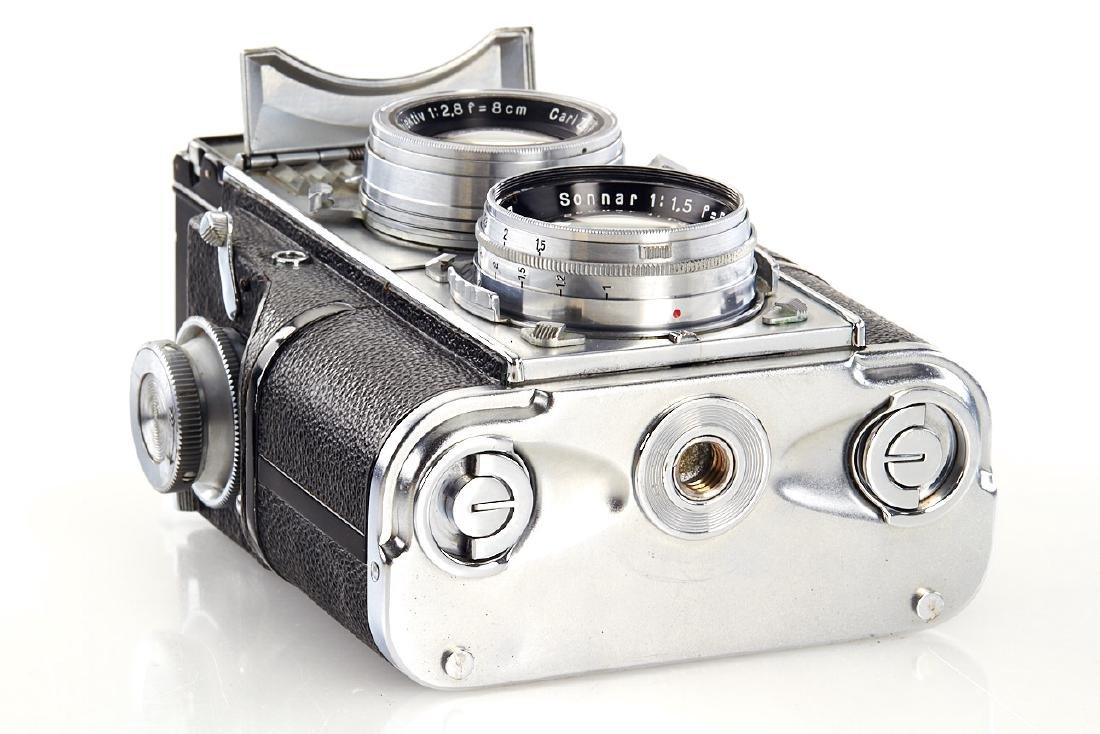 Contaflex TLR set, c.1935, no. A50474 - 5