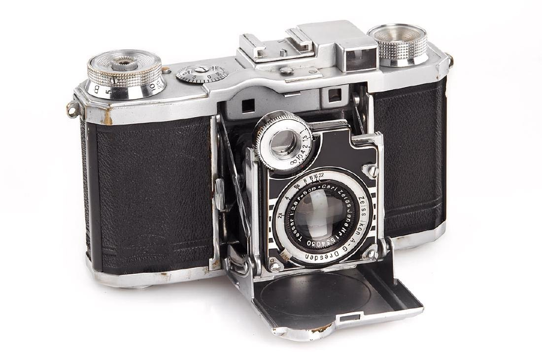 Zeiss Ikon Super Nettel II, c.1936, no. Z43239