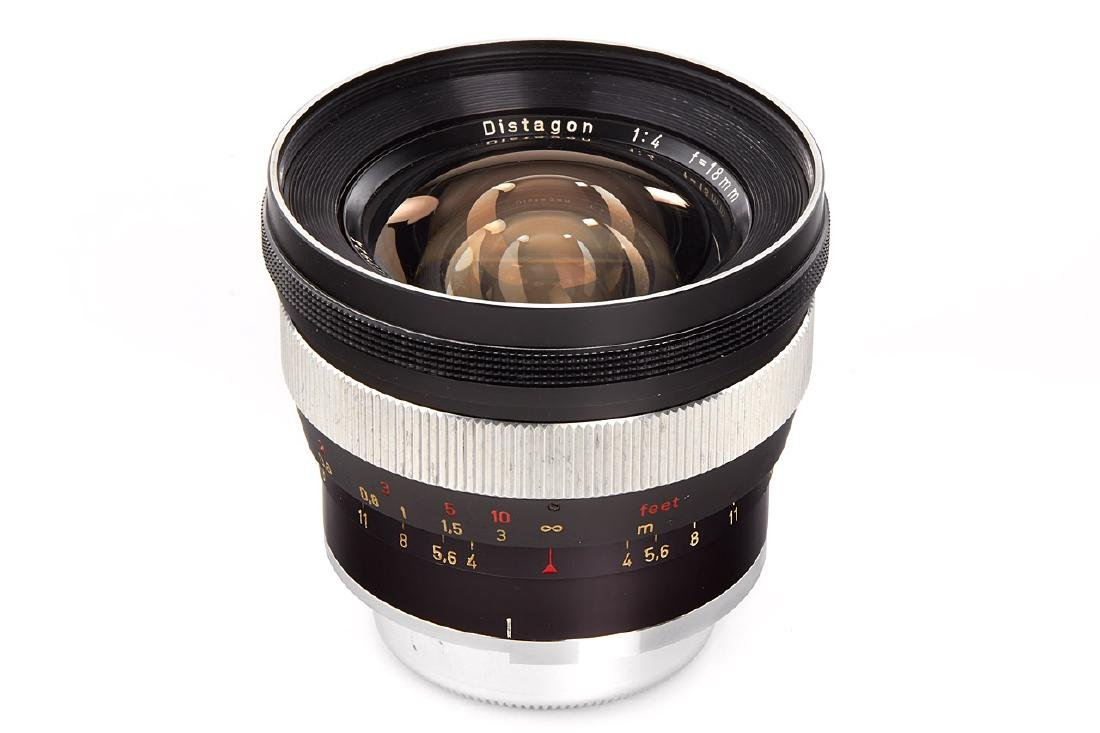 Carl Zeiss 4/18mm Distagon *, 1970, no. 4842924