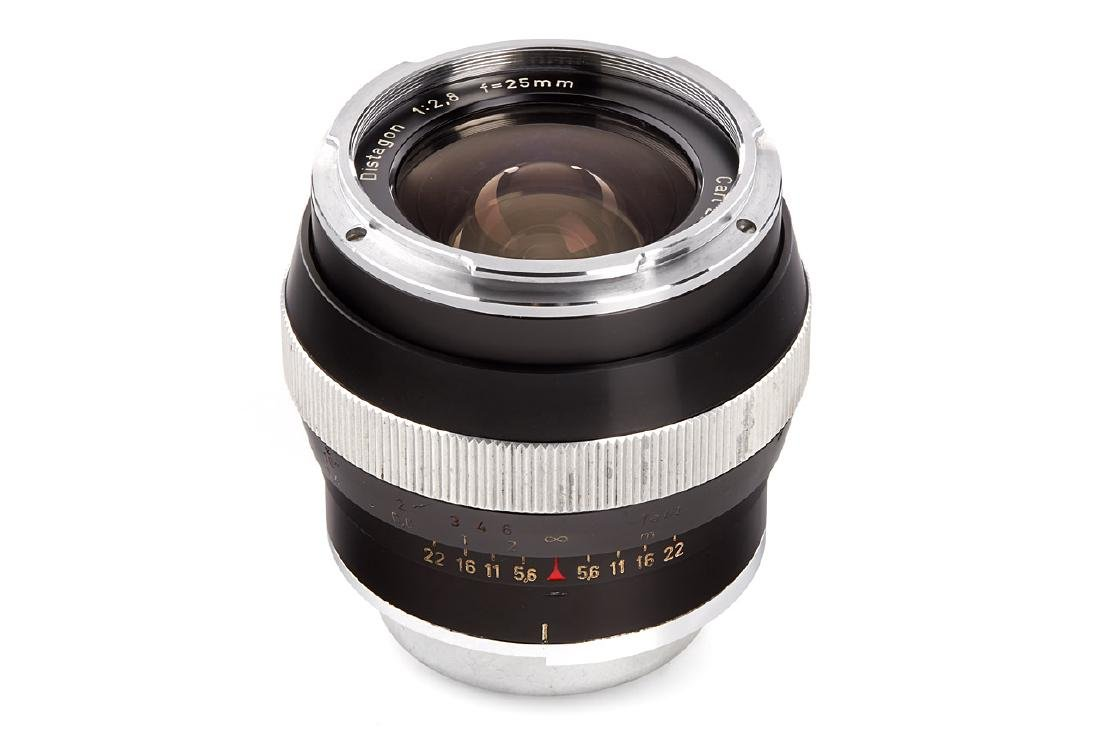 Carl Zeiss 2.8/25mm Distagon *, 1965, no. 3970251