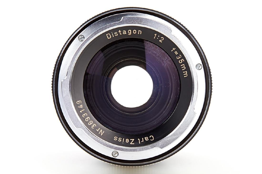 Carl Zeiss 2/35mm Distagon black *, 1965, no. 3693149 - 3