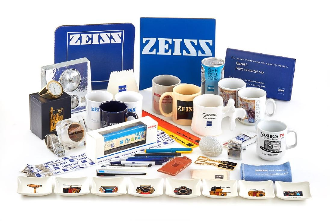 Carl Zeiss / Contax Advertising Material, 1980-1990