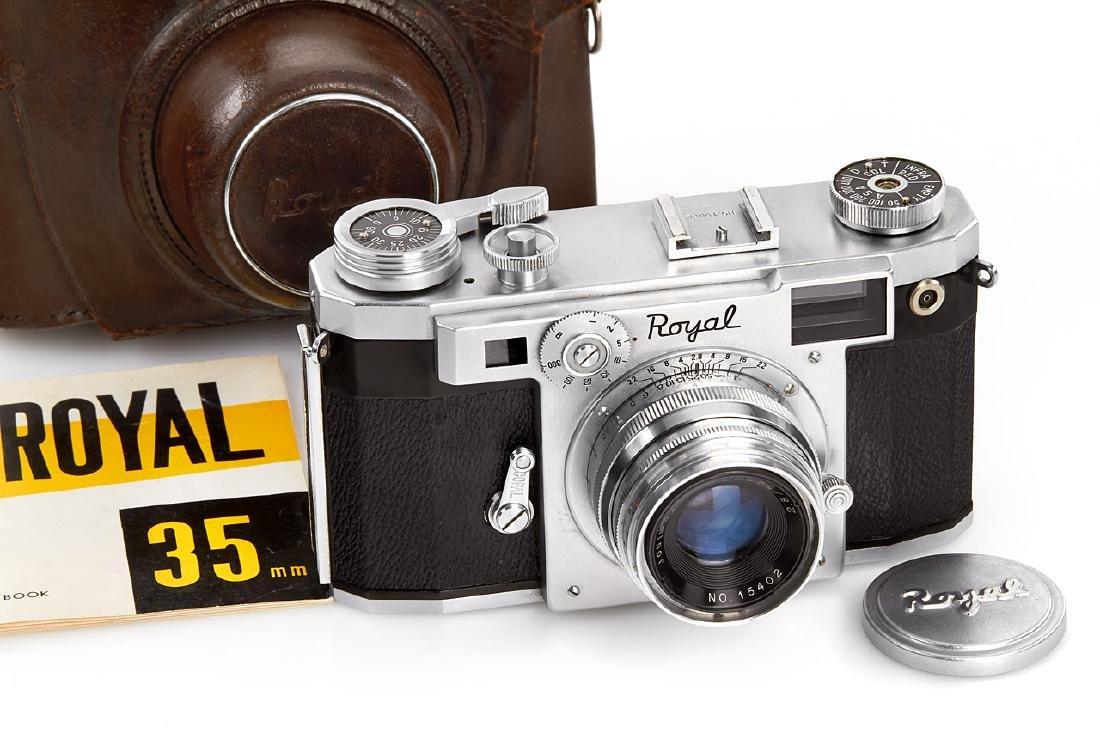 Royal Camera Co. Royal 35, 1955, no. 15652
