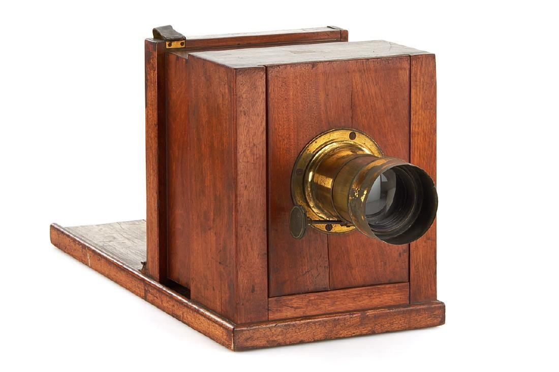French Wet-plate Sliding Box Camera, c.1860