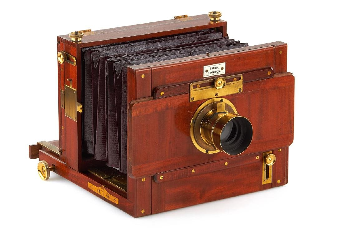 Ross London (Stereo) Tailboard Camera, c.1890