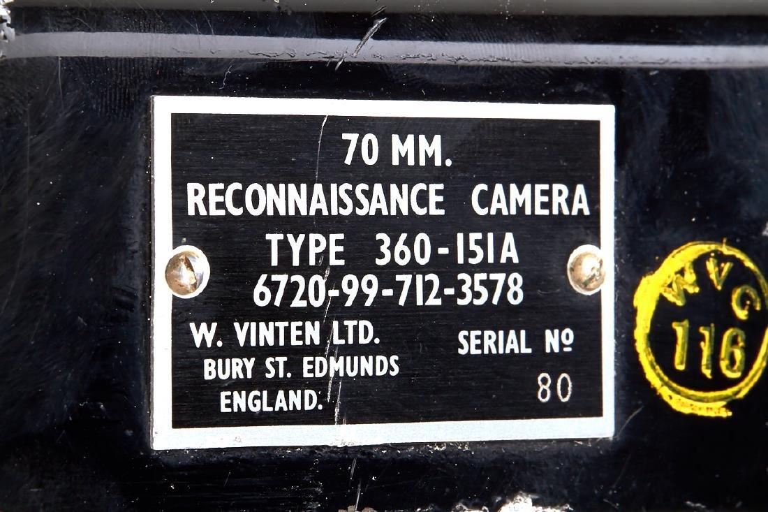 Vinten Reconnaissance Camera, c.1960's, no. 61 - 7
