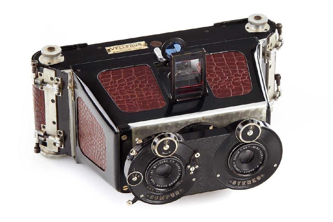 Fournier Stereo Camera, c.1920