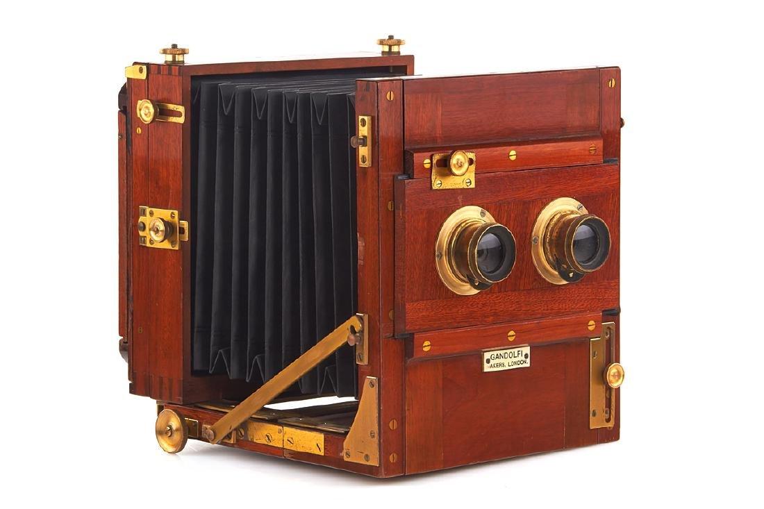 Gandolfi Stereo Camera, c.1900, no. 5