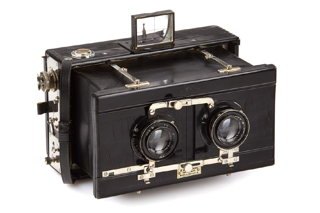 Goldmann Universal Stereo Camera, c.1890, no. 9677