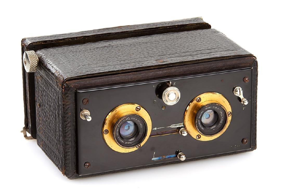 Naudin Orama Stereo Camera, c.1895, no. 5794