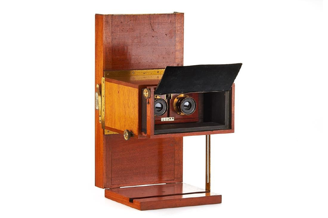Sanger Shepherd Stereoscopic Colour Camera, c.1908