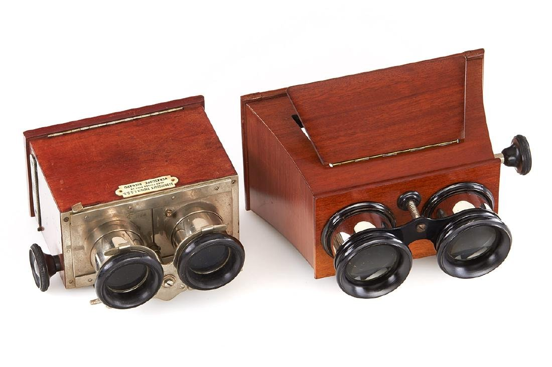 Wooden Stereo Viewers, c.1940