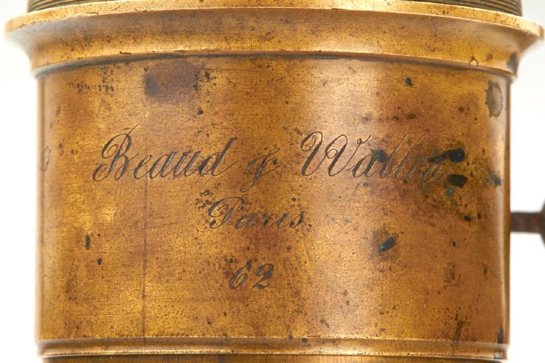 Beaud & Wallon Paris Petzval Daguerreotype Lens, - 2