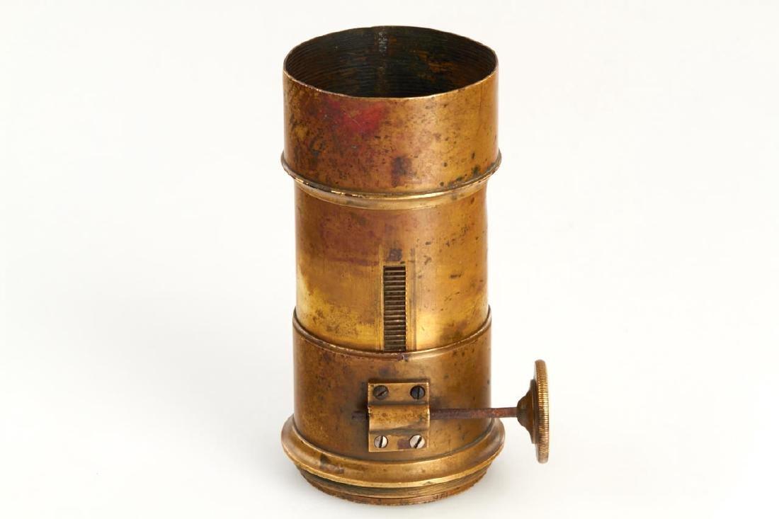 Beaud & Wallon Paris Petzval Daguerreotype Lens, - 3