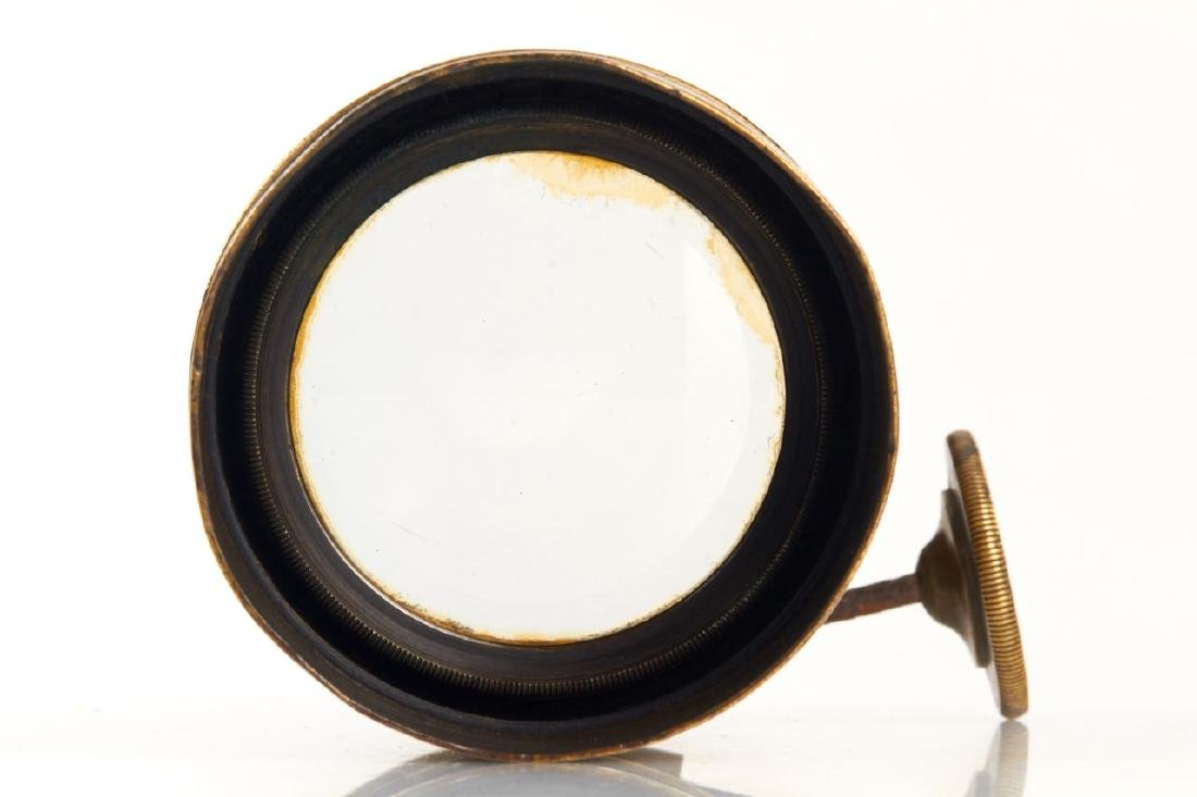 Beaud & Wallon Paris Petzval Daguerreotype Lens, - 4