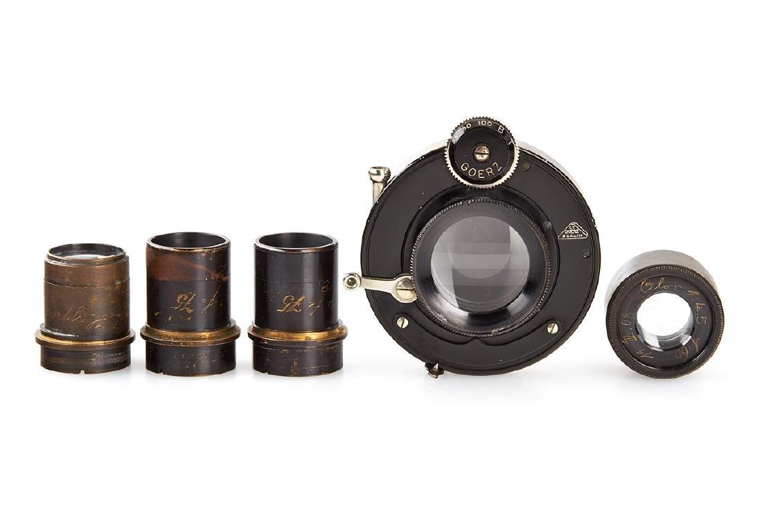 Goerz Prototype Lenses (various), c.1910