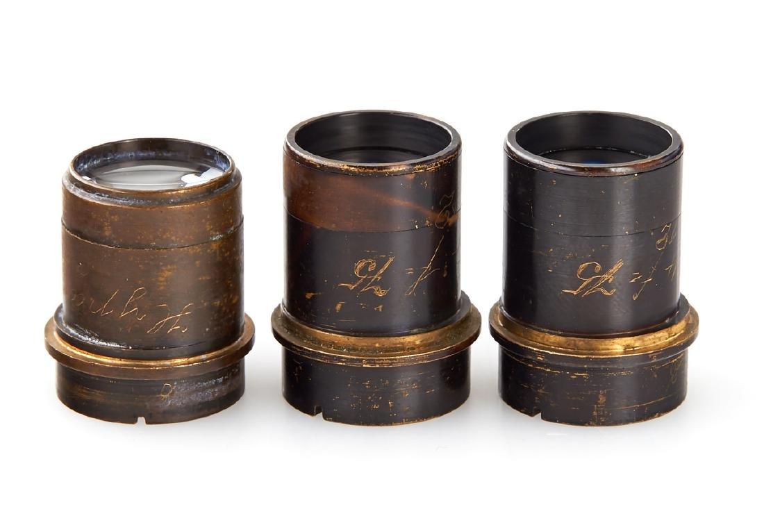 Goerz Prototype Lenses (various), c.1910 - 2