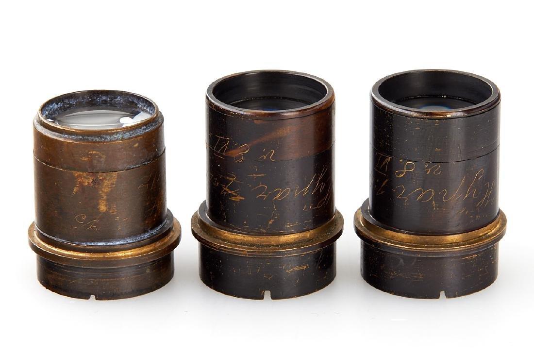 Goerz Prototype Lenses (various), c.1910 - 3