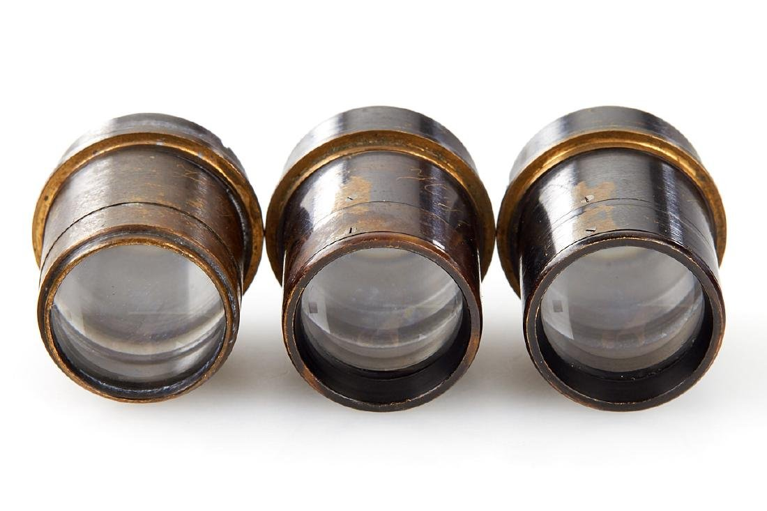 Goerz Prototype Lenses (various), c.1910 - 4