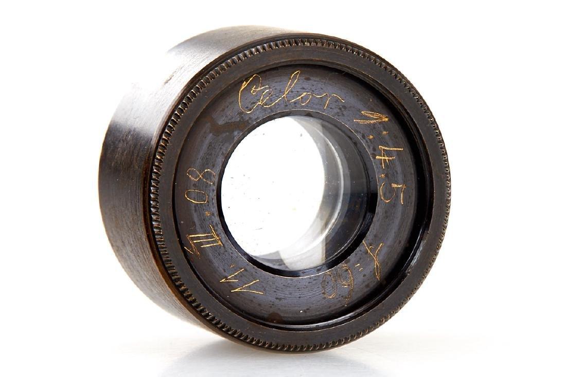 Goerz Prototype Lenses (various), c.1910 - 5