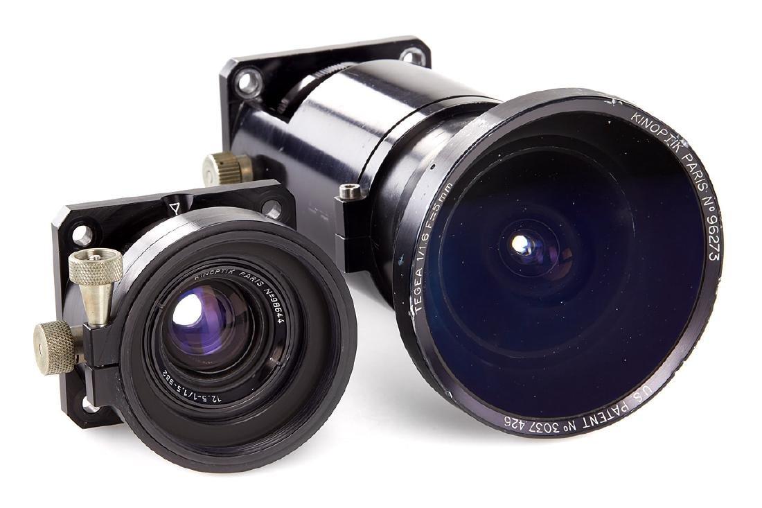 Kinoptik Tegea 1.6/5mm + 1.5/12.5mm, c.1970's
