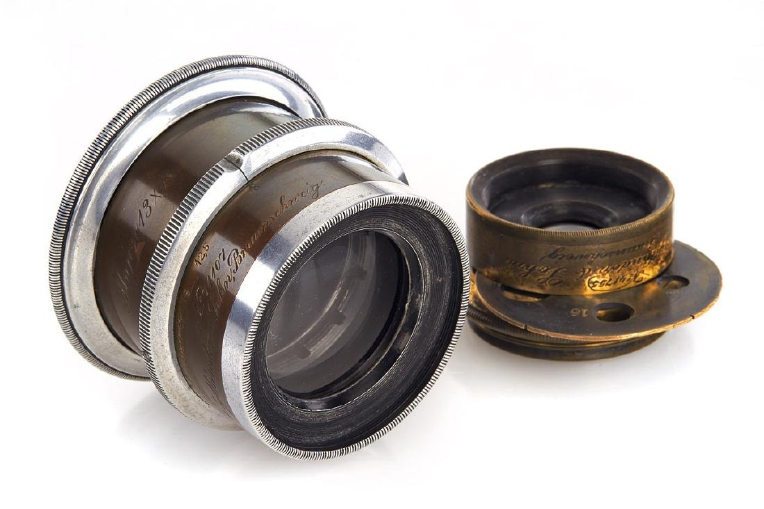 Voigtländer Anastigmat lenses, 1880-1900, no. 71107