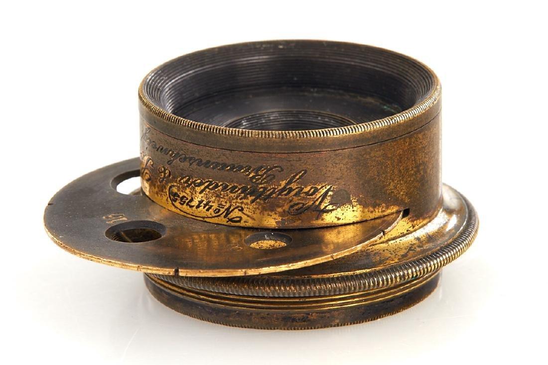 Voigtländer Anastigmat lenses, 1880-1900, no. 71107 - 5